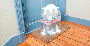 Livraison de votre eau à domicile