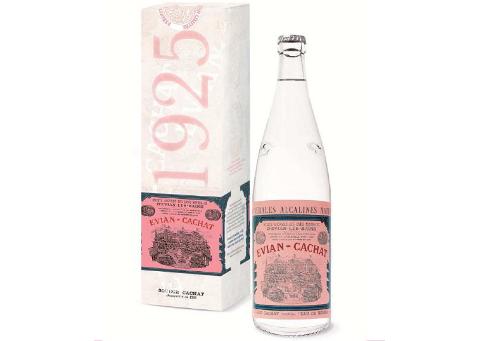 Bouteille evian collector une r dition de la bouteille de 1925 live young - Collection bouteille evian ...