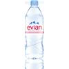 La composition de l'eau evian