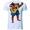 T-shirt evian Baby Bay Guitare