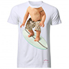 T-shirt evian Baby Bay Surfer