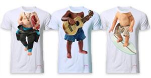 T-shirts et produits dérivés evian