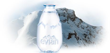 La Goutte d'evian : un design unique, le format d'un verre !