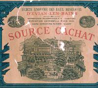 Création de la Société Anonyme des Eaux Minérales de Cachat